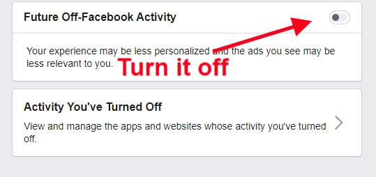 Không cho Facebook theo dõi để quảng cáo 09b1cf621d3222e9318e079226b3c4e5