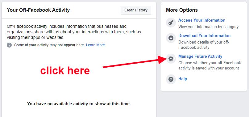 Không cho Facebook theo dõi để quảng cáo F8a6d9e8cc3b018039efce45f42b82f2
